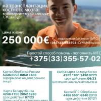 Благотворительный сбор средств на лечение Шелешко Артема