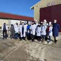 Практическое обучение студентов в передовых сельскохозяйственных предприятиях