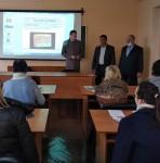 Встреча представителя узбекской  делегации со слушателями факультета повышения квалификации и переподготовки кадров