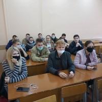 Собрание студентов 4 курса БТФ по распределению на работу и прохождению практики