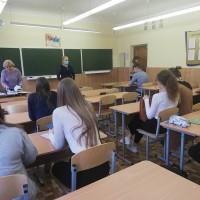 Профориентационная работа сотрудников  кафедры иностранных языков