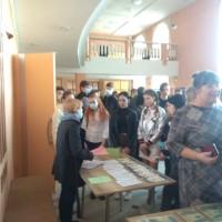 Профориентационная работа сотрудника кафедры микробиологии и вирусологии с учащимися школ Городокского района