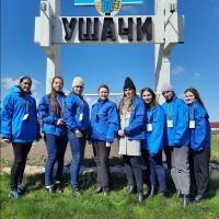 Экскурсия студентов академии в г.п. Ушачи Витебской области