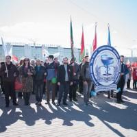 Участие работников и обучающихся УО ВГАВМ в городских мероприятиях, посвященных Дню Победы