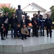 Встреча иностранных студентов из Узбекистана