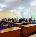 Учеба сотрудников и преподавателей УО ВГАВМ по охране труда