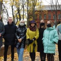 Досуг наших студентов: знакомство с Витебском!